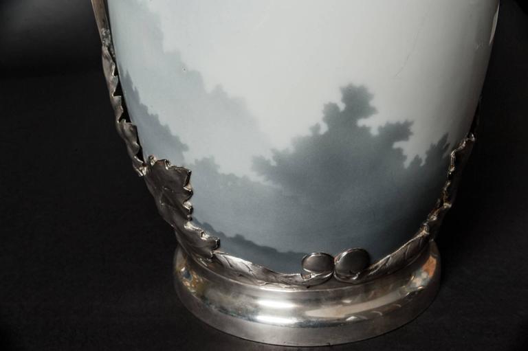 Maple Leaf Vase For Sale 2