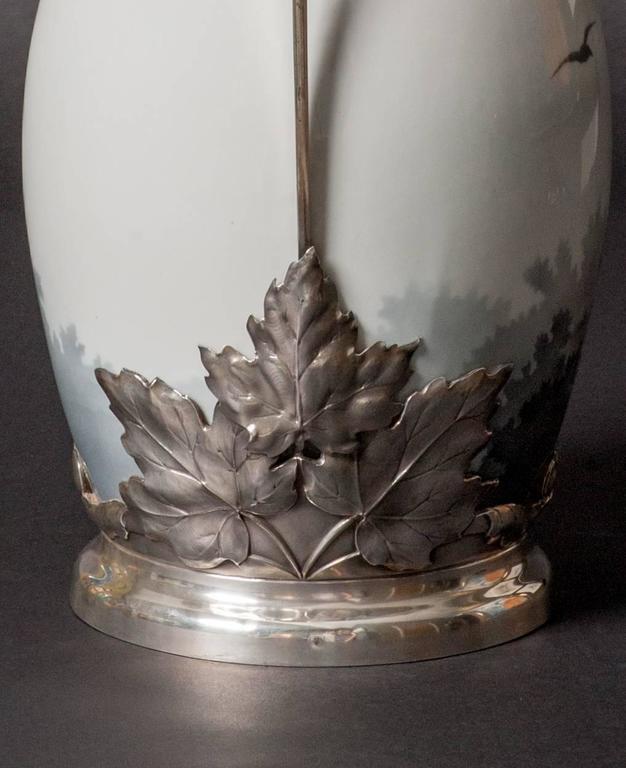 Maple Leaf Vase For Sale 3