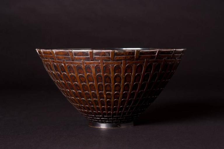 Egyptian Lotus Bowl - Jugendstil Art by Ludwig Karl Maria Vierthaler