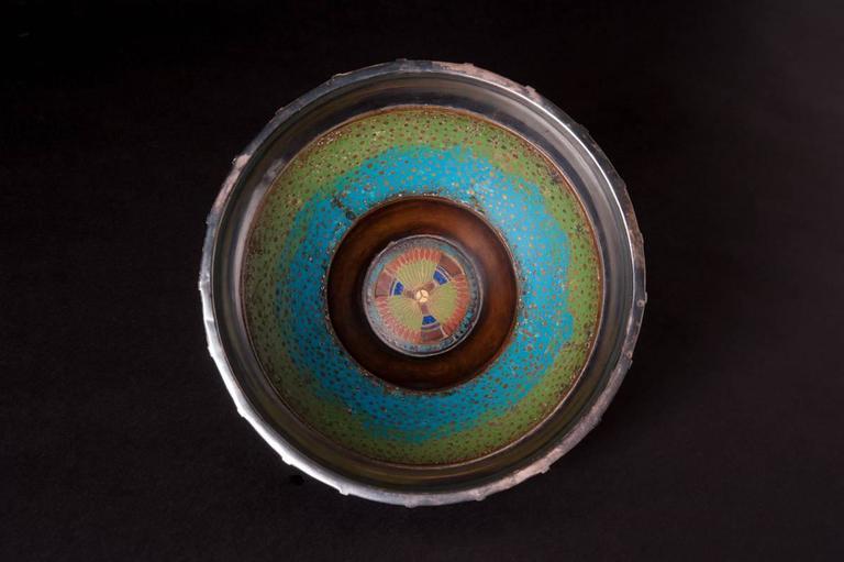 Egyptian Lotus Bowl - Art by Ludwig Karl Maria Vierthaler