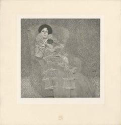 "H.O. Miethke Das Werk folio ""Portrait of Marie Henneberg"" collotype print"