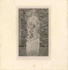 "H.O. Miethke Das Werk folio ""Portrait of Paula Zuckerkandl"" collotype print"