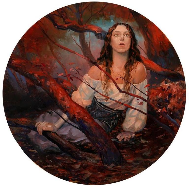 Kai Carpenter Figurative Painting - Joan of Ark
