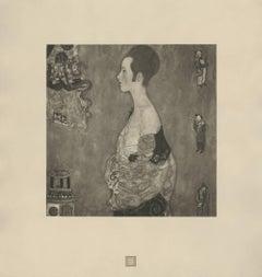 """Max Eisler Eine Nachlese folio """"Wally"""" (Girl in Profile) collotype"""