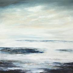 Calm Seas, Beyond Words abstract landscape painting