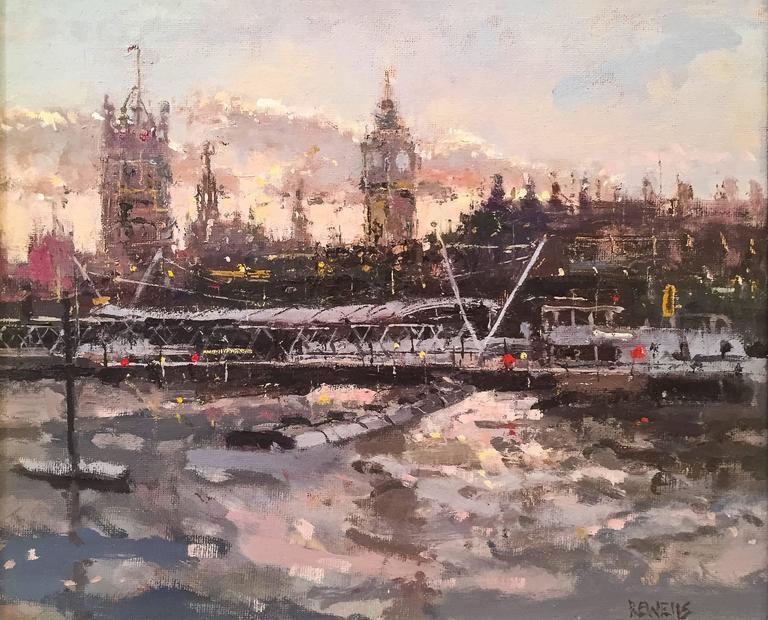 Westminster Skies landscape painting