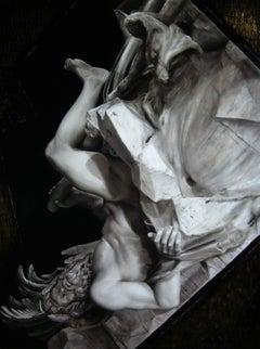 Sysuphus Original Oil Painting