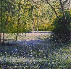 Bluebells  I Original Landscape Painting