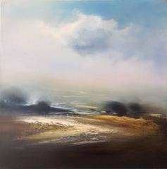 Revealing Path abstract landscape oil painting