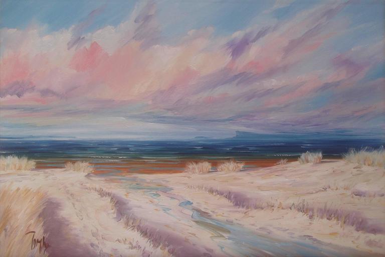 Away to Eigg Original Oil Painting