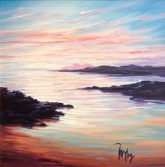 Sanna Bay Sunset Original Landscape Painting