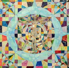 Fragmented Vitruvian Man
