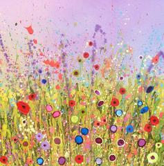 Flower Love Abstract Landscape Artist
