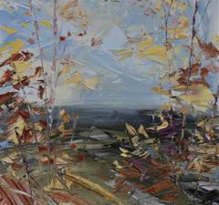 Gentle wind original landscape painting