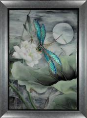 Dragonfly original realism painting