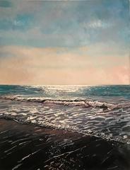 Summer Shore original landscape painting