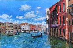 Venice Original city landscape painting