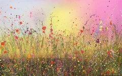 Summer Meadows original landscape paintings
