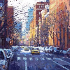 Promise of a Spring Greenwich Village original City painting