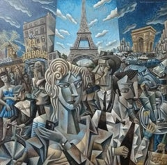 Paris original cubism painting