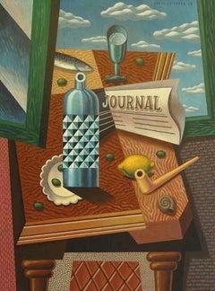Olivas original cubism painting