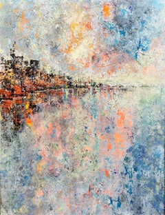 Distant Lands abstract landscape paiting