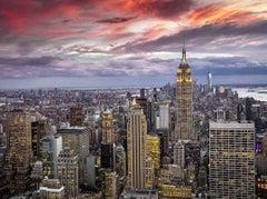 New York Sunset original limited edition photograph