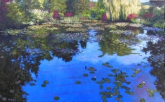 Reflections at Giverney Original oil painting