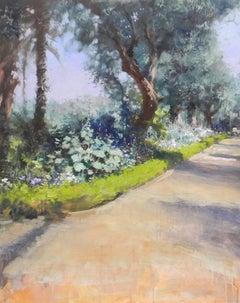 Mamounia Garden Marrakech original landscape painting