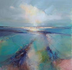Looking North West original abstract painting