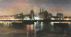 City Lightsoriginal city Landscape painting