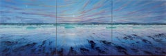 Atlantic Breeze original abstract landscape painting