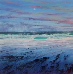 Atlantic Breeze I original landscape painting
