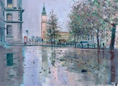 Big Ben London original cityscape painting