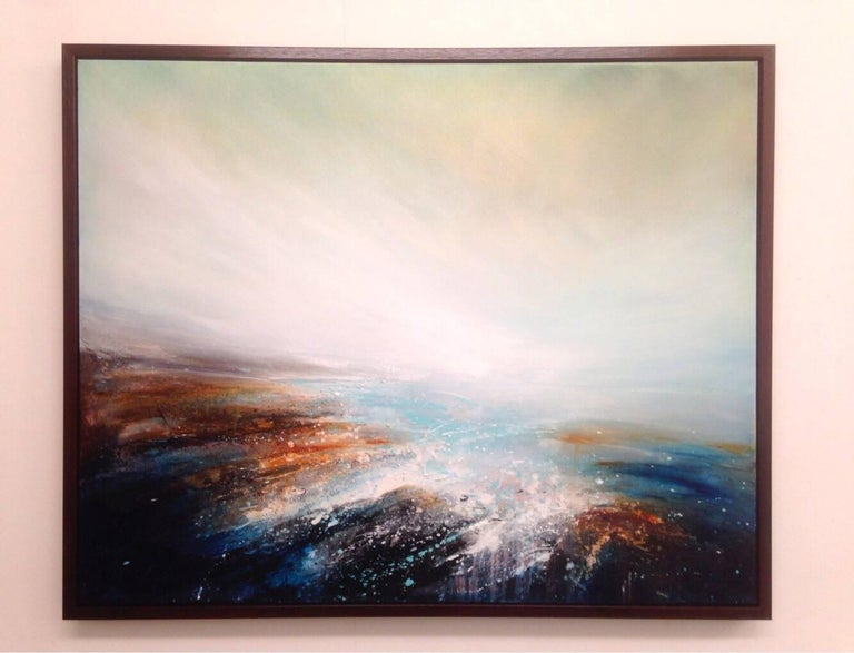 Passage original abstract landscape paintings For Sale 1