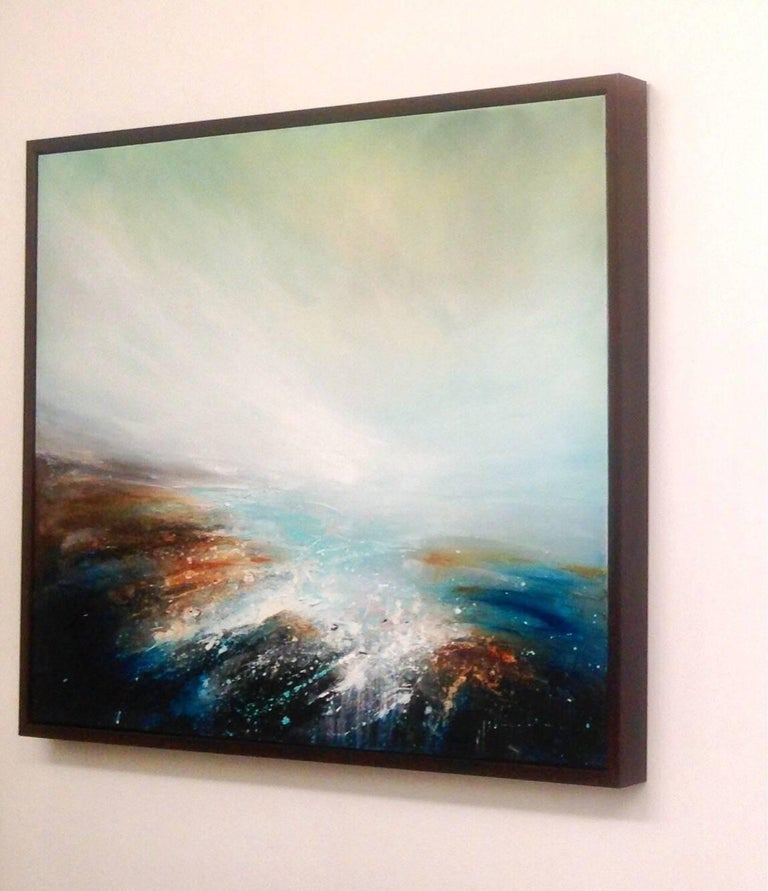 Passage original abstract landscape paintings For Sale 2