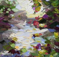 Paul Treasure - Weir Pool Abstract Landscape