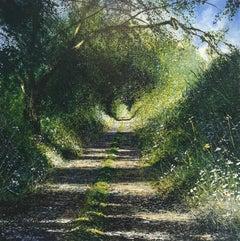 Path & Shadows  original landscape painting