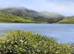 Silent Days original highlands miniature painting