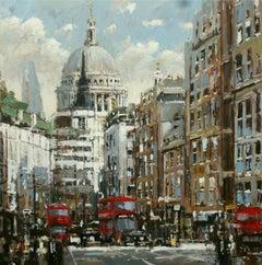St Pauls original city landscape painting
