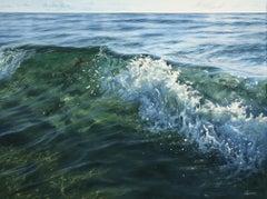 Crystal Rush original realism seascape painting