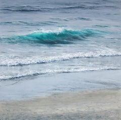 Blue Revealed III original seascape painting
