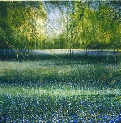 Bluebells original landcsape painting