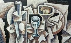 La copa original still life cubism painting