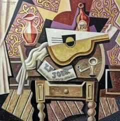 Le Jour original still life cubism painting