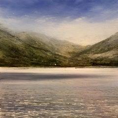 The traditionalist original highlands landscape miniature painting