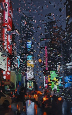 Limitless original NYC CITY  landscape painting