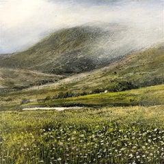 Mountain Walk  original landscape miniature painting