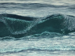 Spiral Wave original realism seascape painting