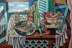 Mediterranean  original landscape painting